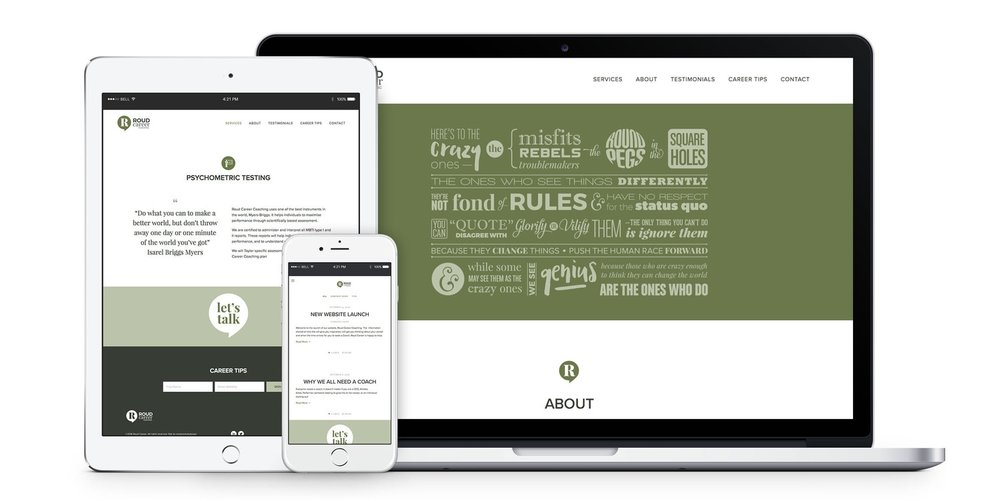 Roud Careers - Simply Whyte Design   Auckland Brand Web Design