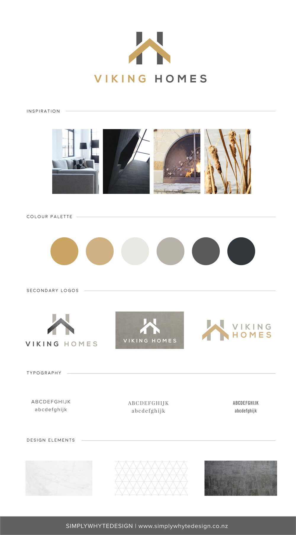 Viking Homes - Simply Whyte Design | Auckland Brand Web Design