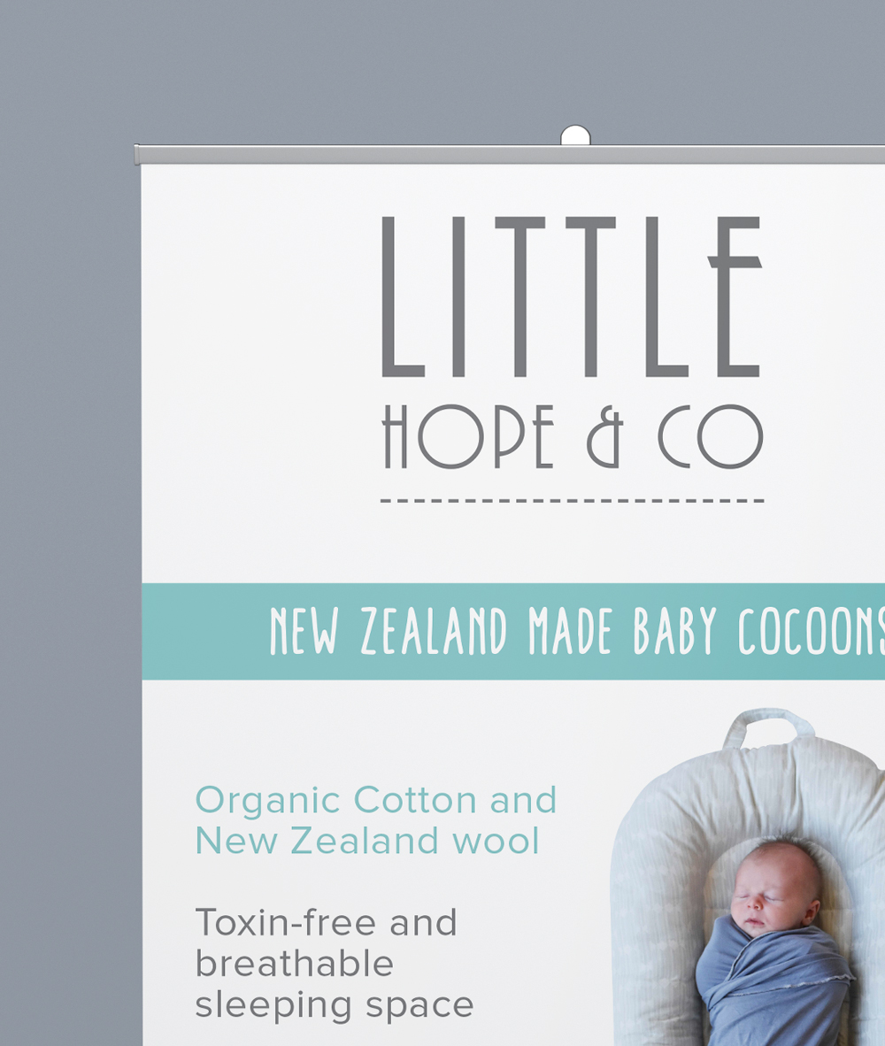 Little Hope & Co - Simply Whyte Design | Auckland Brand Web Design