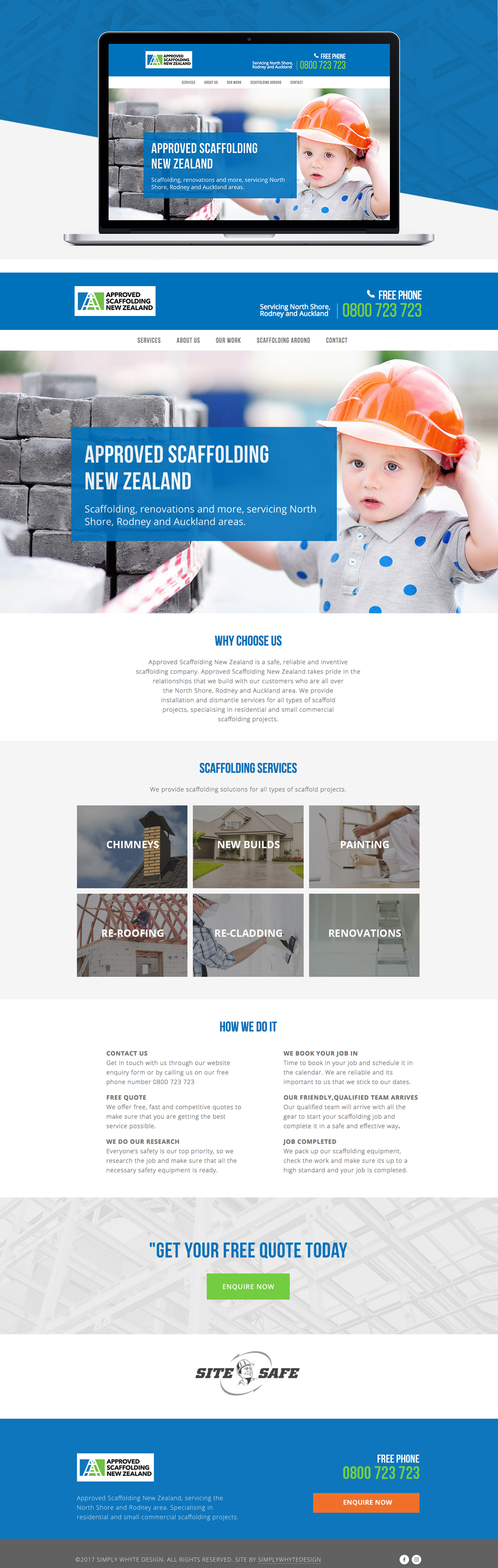 Approved_Scaffolding_New_Zealand - Simply Whyte Design | Auckland Brand Web Design