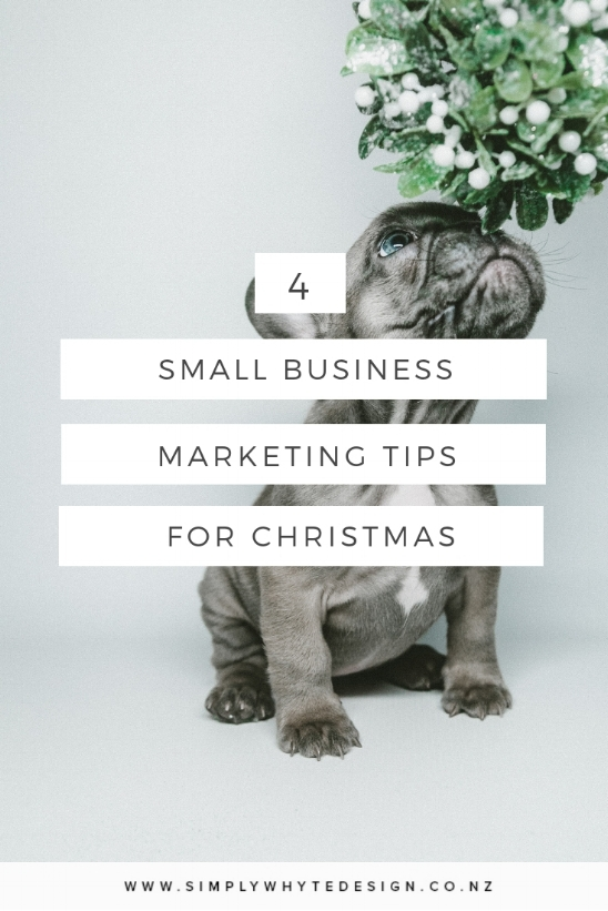 4 Small Business Marketing Tips for Christmas
