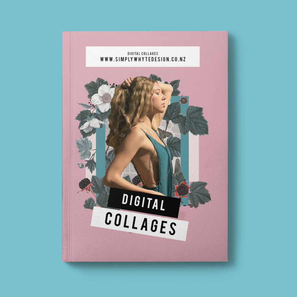 Digital Collages Simply Whyte Design NZ