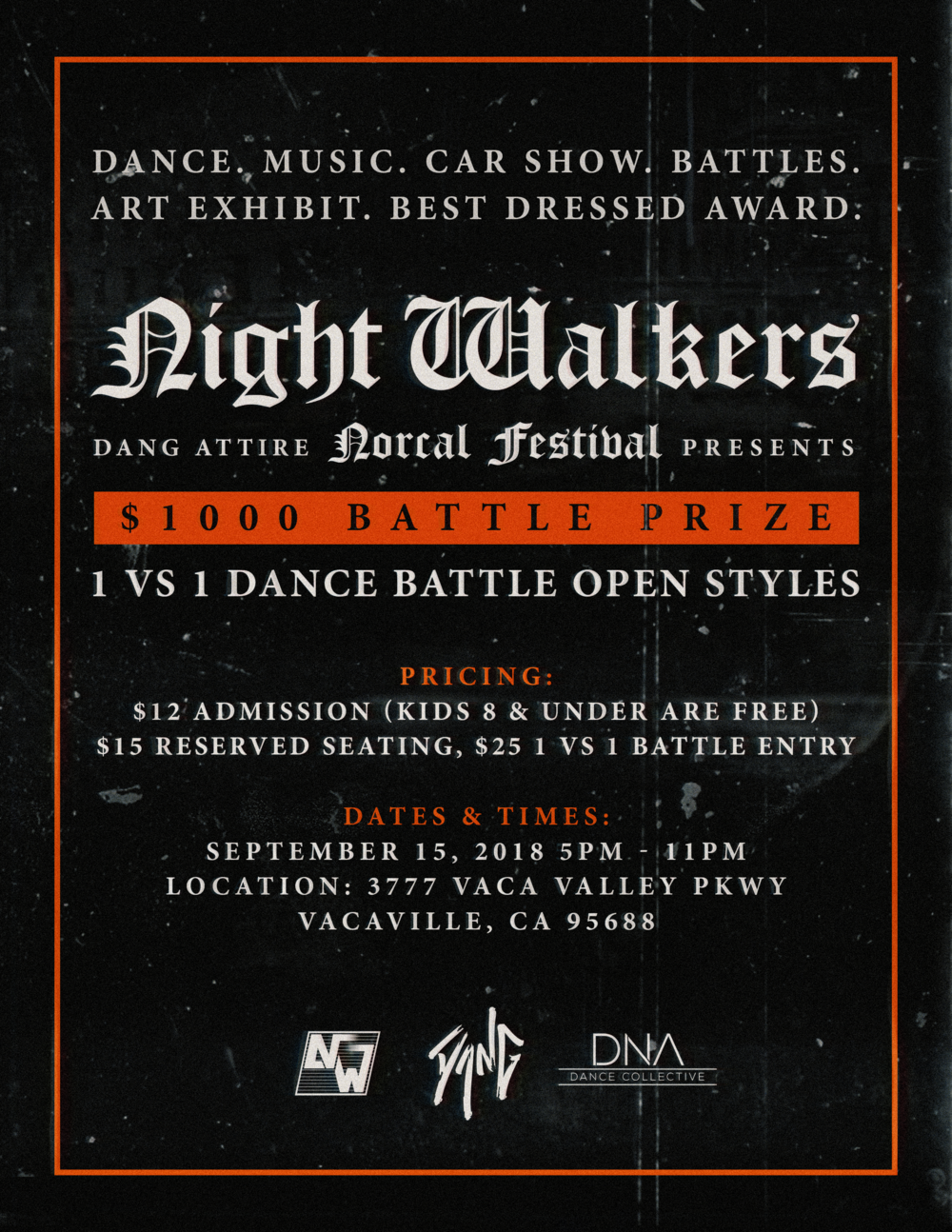 NIGHT WALKERS Norcal FESTIVAL 2018 -