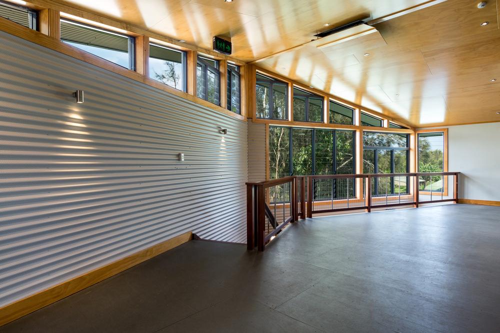 Cape Byron Steiner School multi-purpose hall