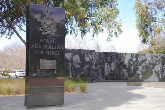 RAAF Memorial, Anzac Parade, Canberra