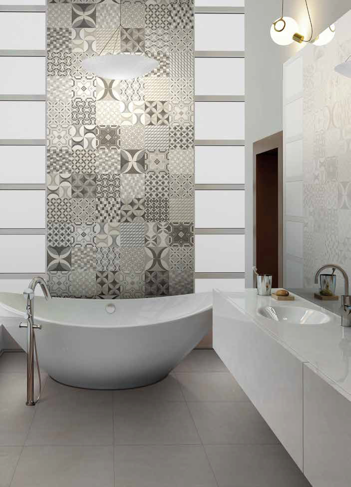 Dakota Tiles: Cementine Mix Tiles