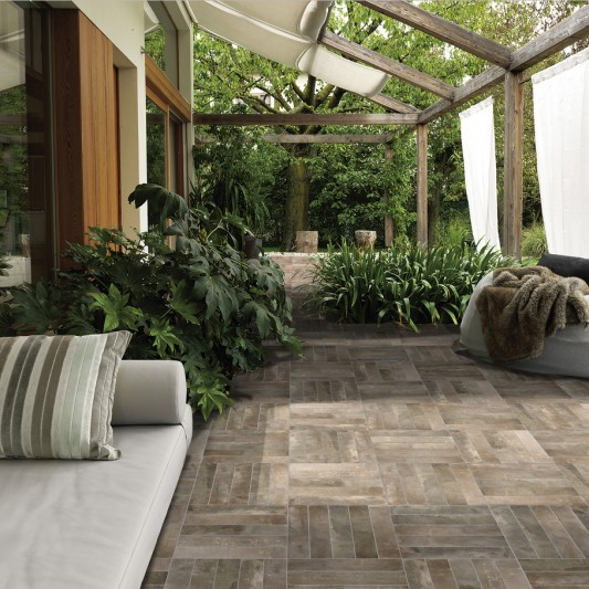 Dakota Tiles: Waimairi mud Matt 75x385