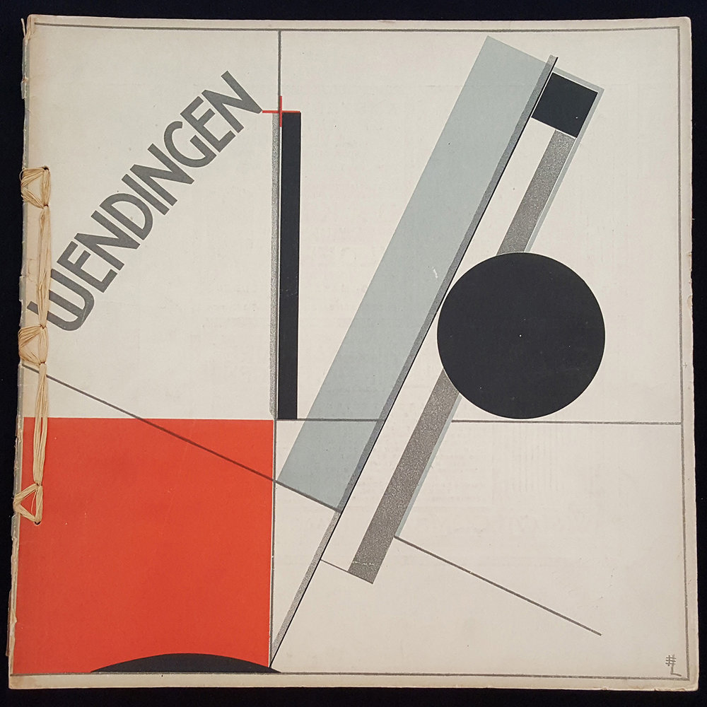 el lissitzky, cover of wendingen magazine vol.4: No.11