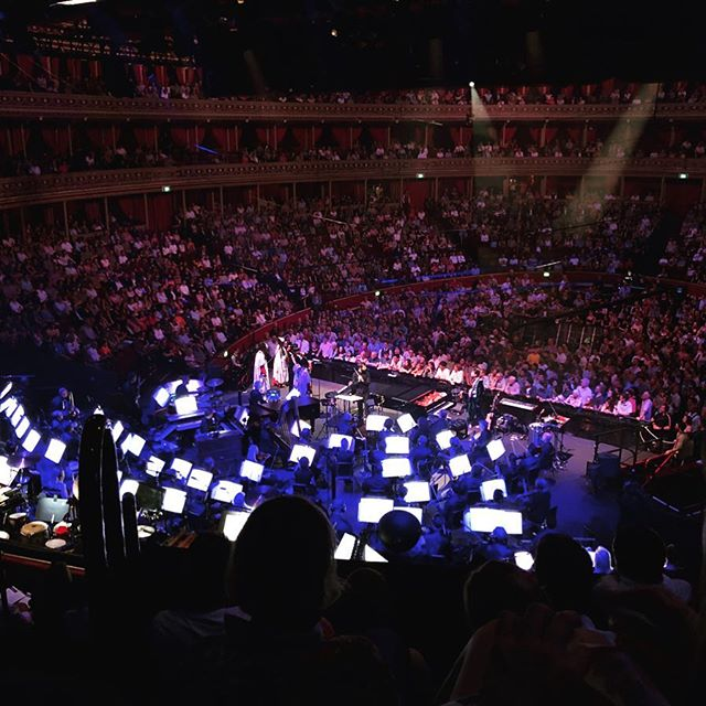 Another great gig last night - this time @bbc_proms featuring @jacobcollier and some talented pals.