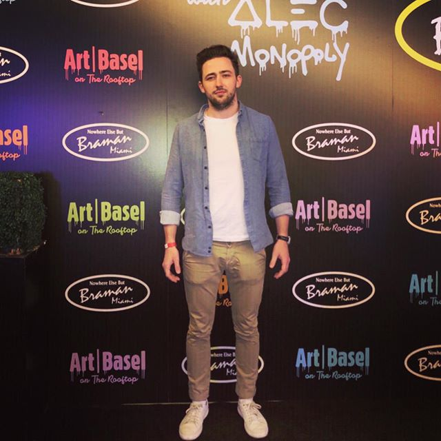Art Basel was cool: I checked out the opening of @pieroatchugarry_gallery, watched @alecmonopoly tag a Rolls-Royce on a Wynwood rooftop and, crucially, had my tentative first sips of Heineken Light. #notanad #reachforthelight