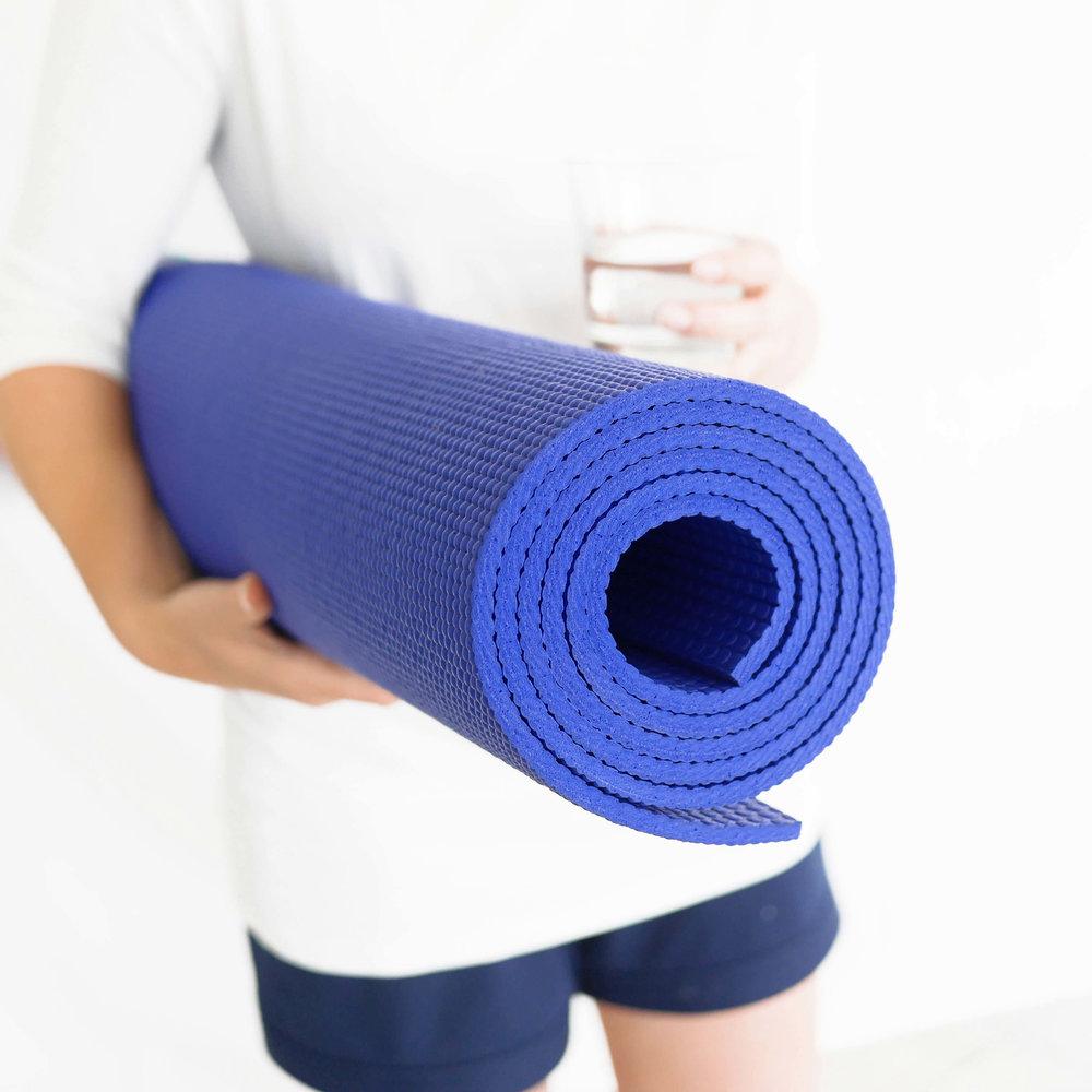 Übergroße Yogamatte