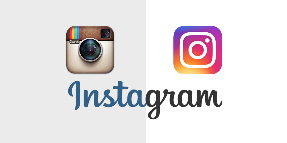 The new Instagram logo released in May 2016