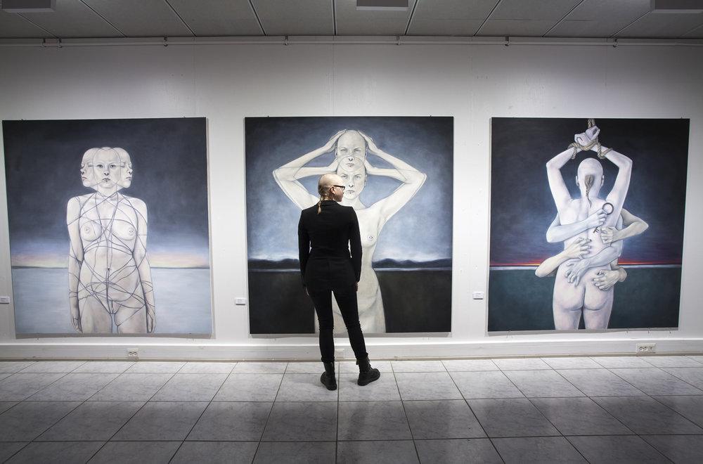 Riitti – Graduation exhibition, Seinäjoki Art Hall, Seinäjoki 8.4.-11.6.2017. Photo: Karoliina Korvuo