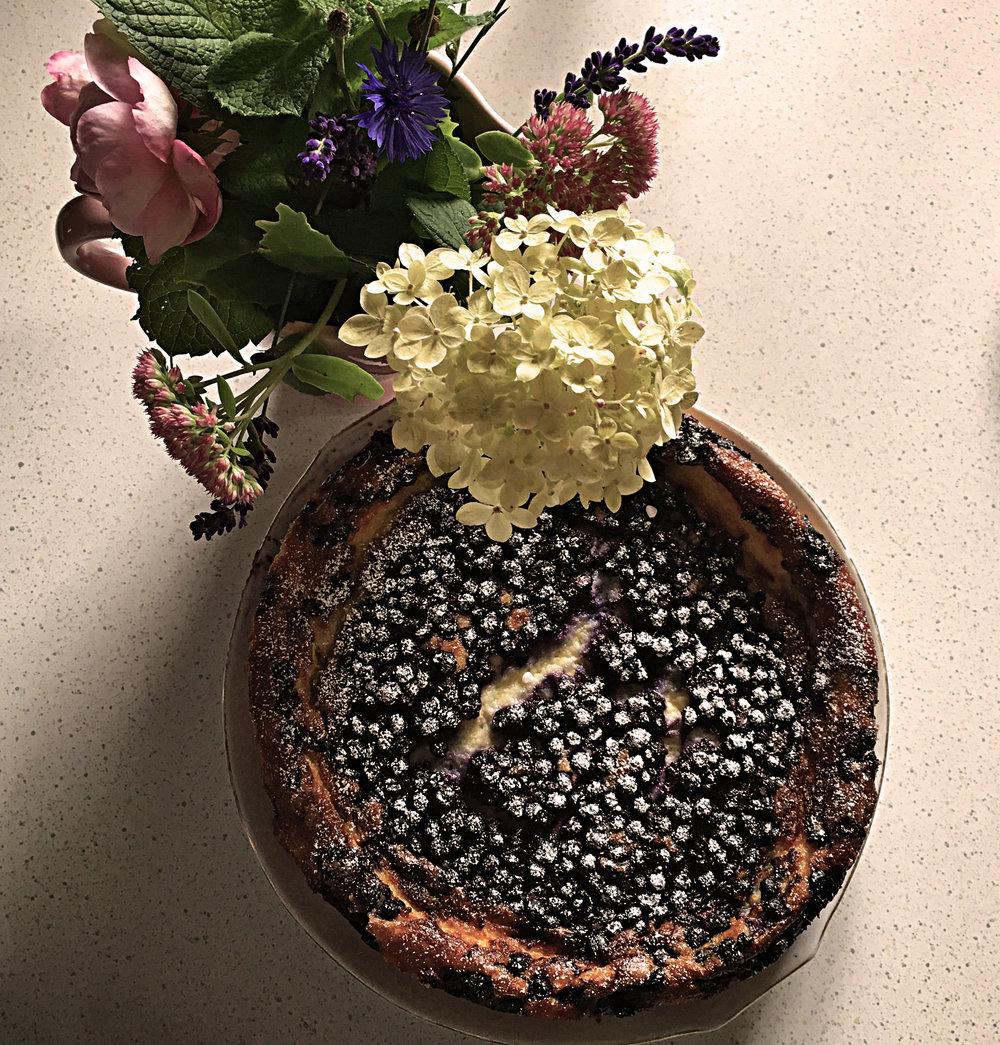 Schwarzbeerkuchen von der Mama