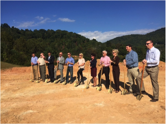 Ground Breaking Ceremony for Chestnut Ridge