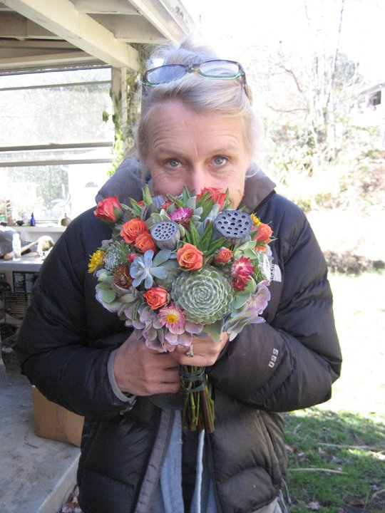 Elaine Young, Owner & Floral Artist of Urban Farm Girl