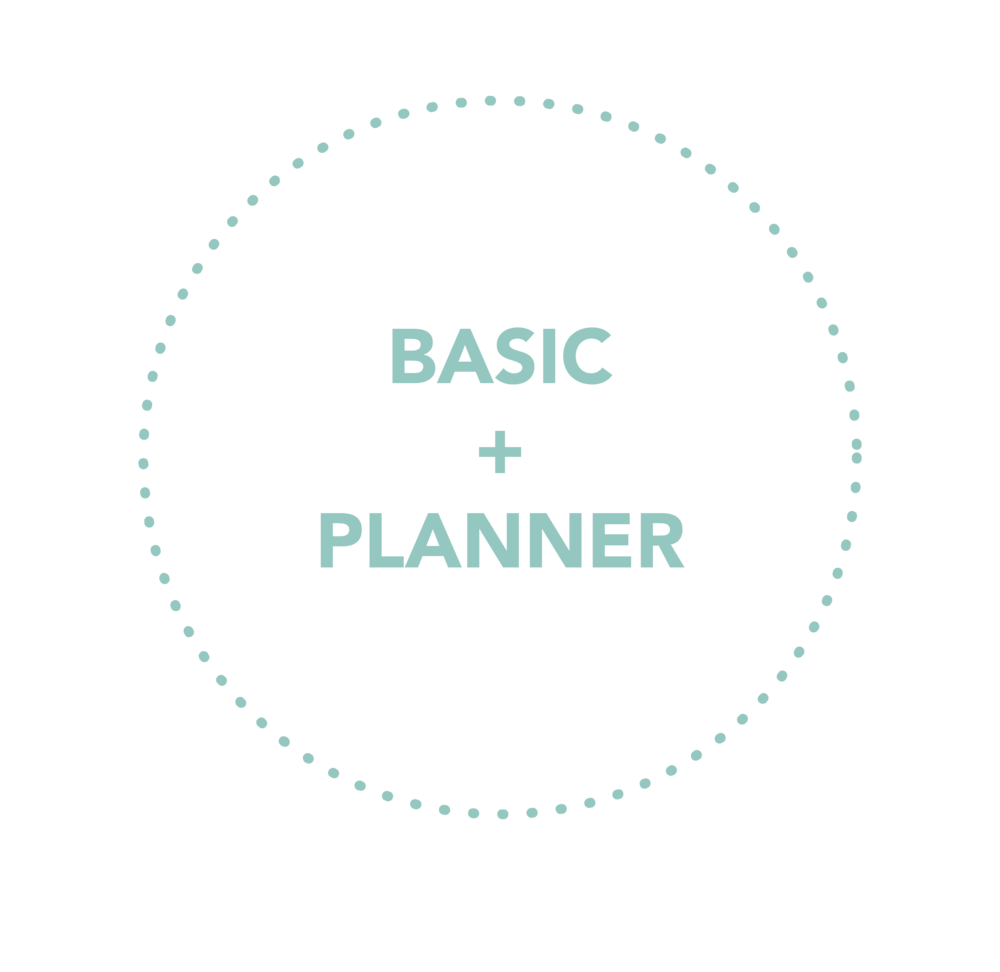 Everything that the Basic Package offers plus our Preferred Vendor, Mingle Events, for the 60 day Planner Package.