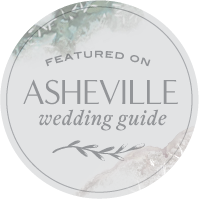 ASHEVILLE WEDDING GUIDE FEATURE