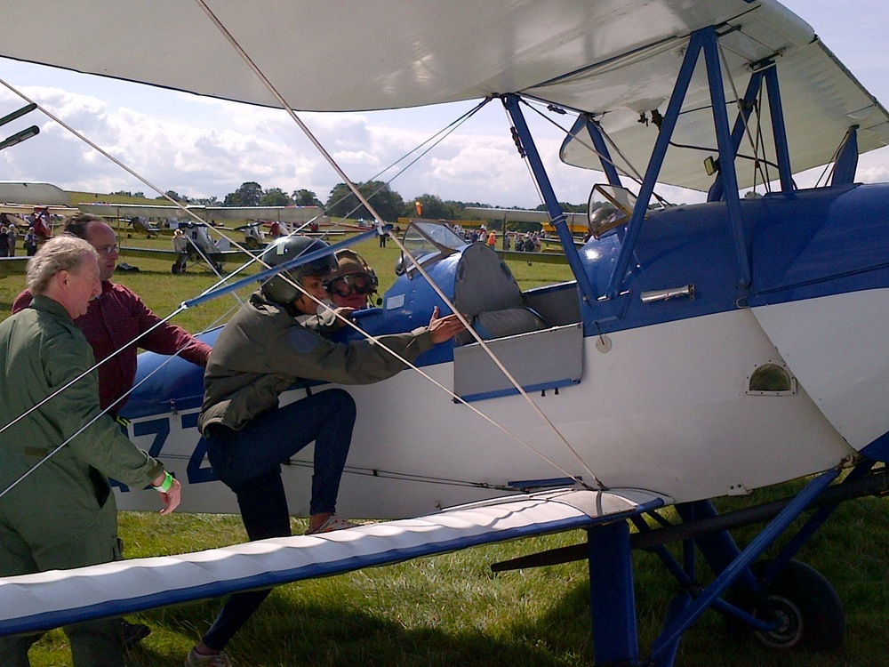 """When life offers you the chance to do aerobatics in a biplane, say yes."" - Asher Jay"