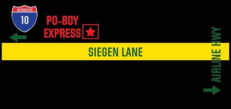 Locations Po Boy Express
