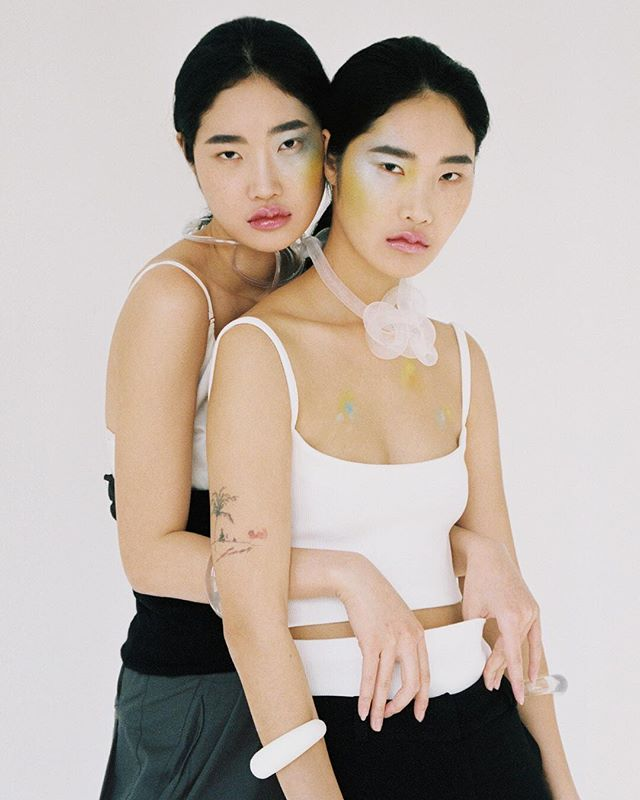 """""""Dual meaning"""" for @nastymagazine  Photography @sunoow Styling @arimariangle Make up/hair @ryungkyungc Models Twins @oh.my.jin @malincovita"""