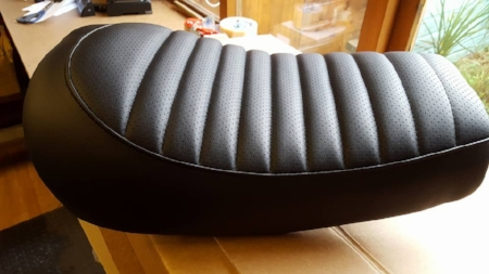 CX Roadster Sport seat back from the upholsters