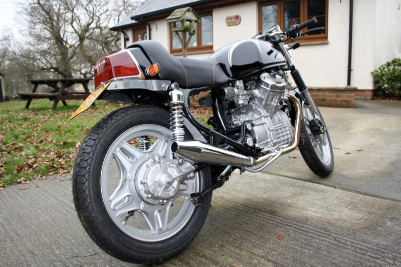 Cafe Racer Custom Bike Conversion