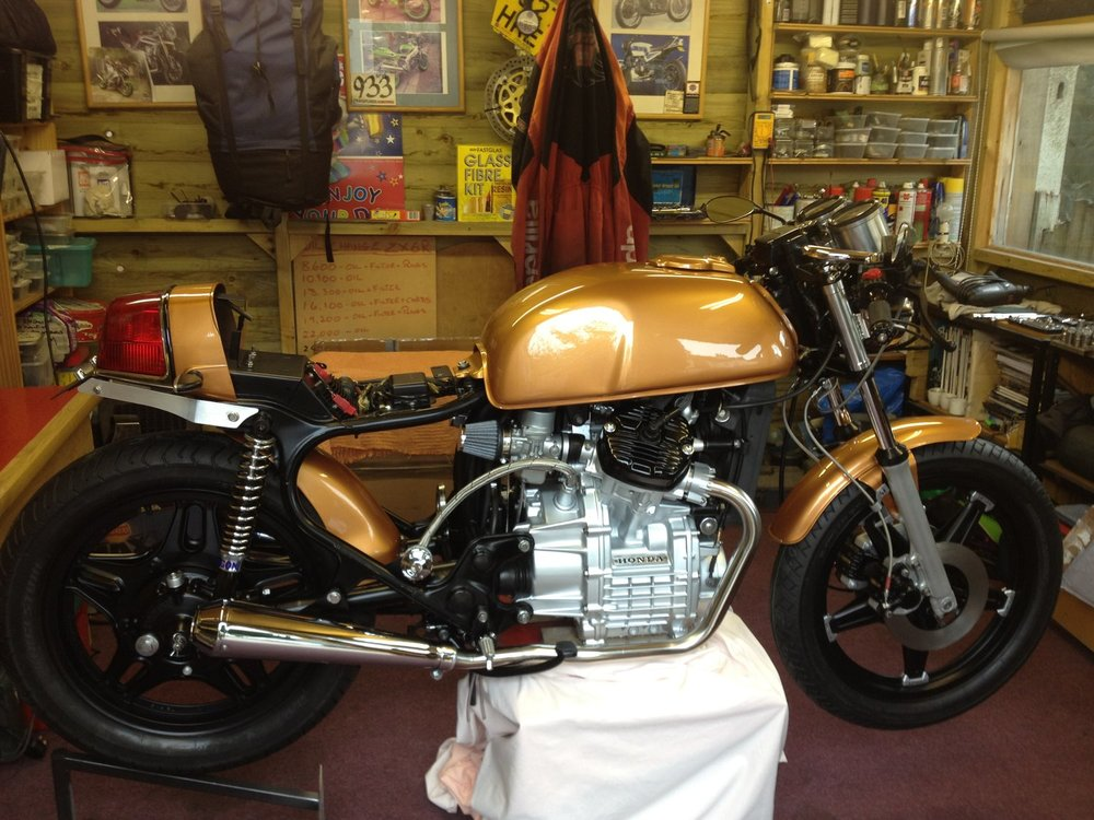 Honda Cafe Racer Custom Bike