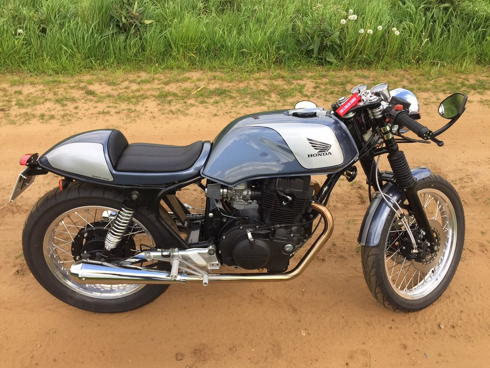 Honda Cafe Racer Superdream Conversion