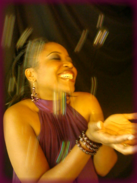 Latrice w purple dress laughing - bubbles in action.jpg