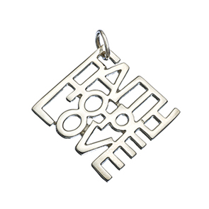 Faith Hope Love Pendant $21.95