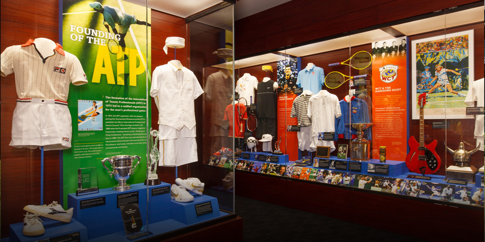 Visit the International Tennis Hall of Fame