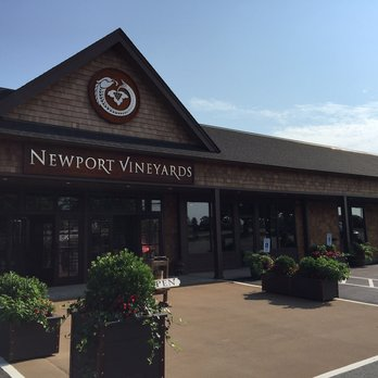 Attend a Winery Tour and Tasting at Newport Vineyards