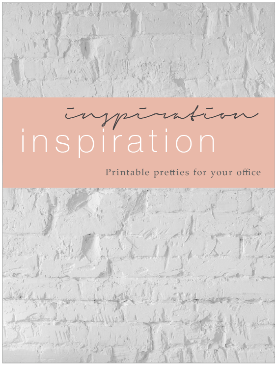 inspiration printable pretties for your office papermoon creatives