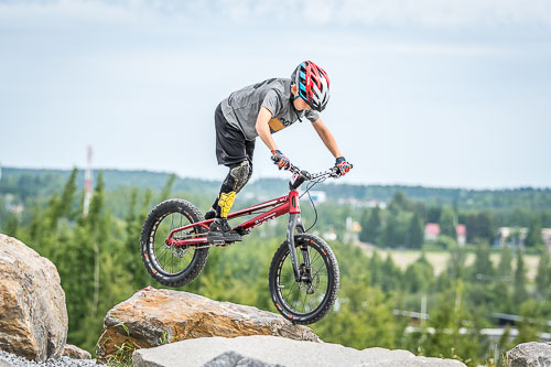 Bike Trial, Suomen Cup, Tampere    18.6.2017