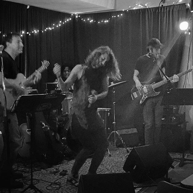 Rock out. #emilyandtheideals #jerseycity #rock #soulmusic #lincolninnjc #music