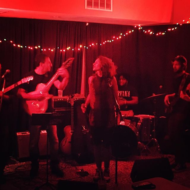Best way to spend a Saturday night. #emilyandtheideals #lincolninnjc #jc #originalmusic #soulmusic #rock #newmusic #jerseycity