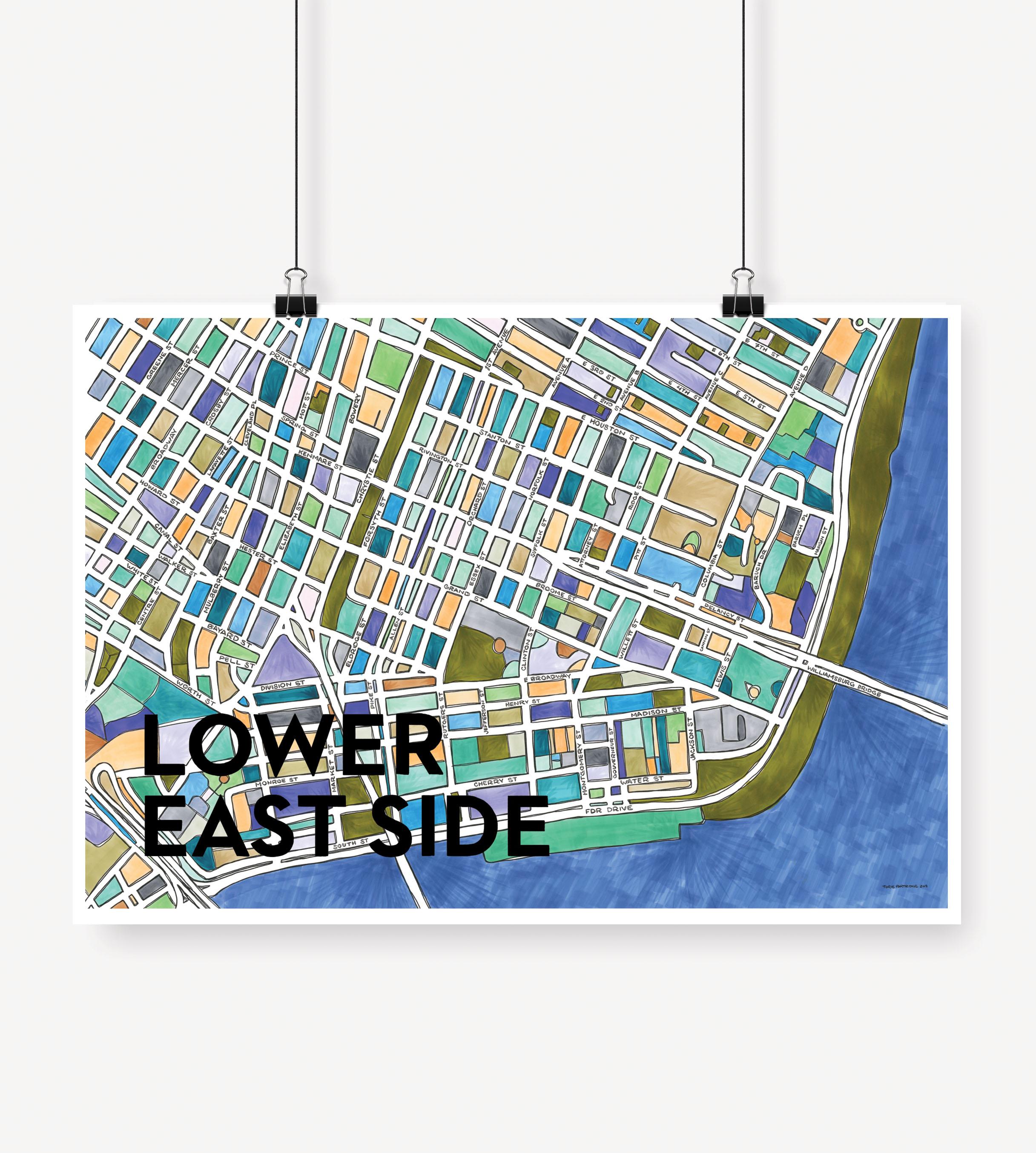 Cherry Blossom Creative — Lower East Side Print
