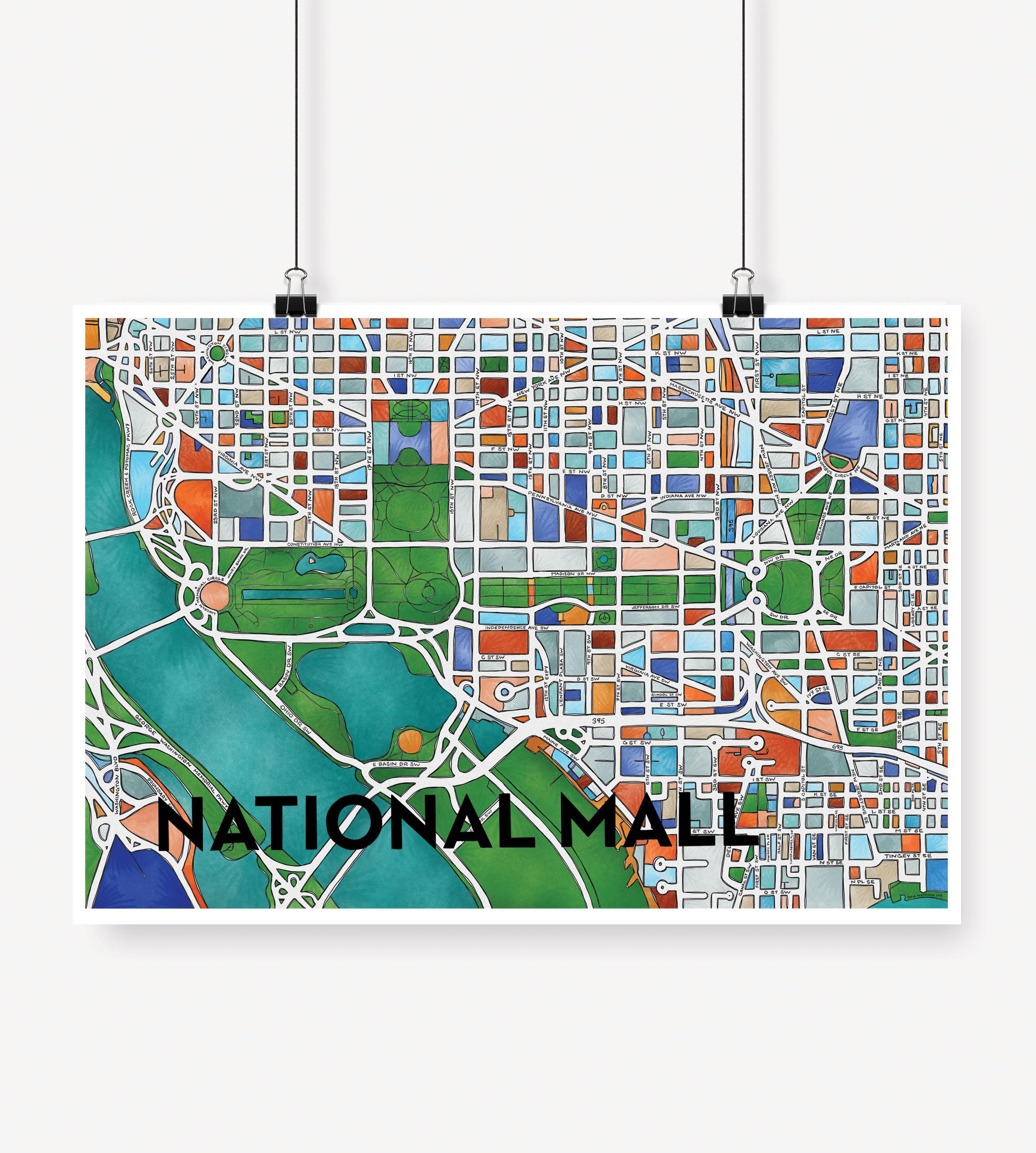 Cherry Blossom Creative — National Mall Print