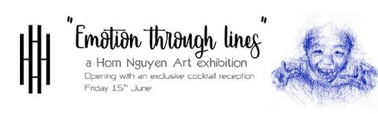 Emotion through lines - BANGKOK15th June – 15th August 2018HANSAR HOTEL3/250 Soi Mahatlek Luang 2, Khwaeng Lumphini, Khet Pathum Wan, Krung Thep Maha Nakhon 10330