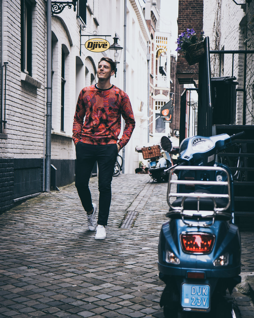 Fashionblogger Pulli von Scotch&Soda