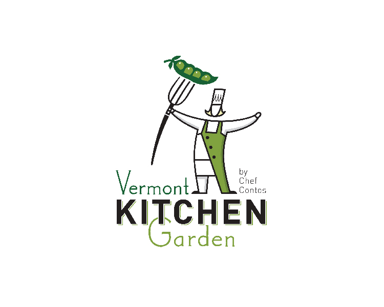 Vermont Kitchen Garden Identity for Chef Courtney Contos