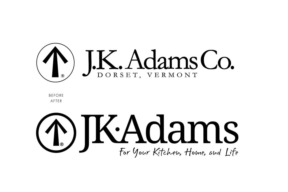 J.K. Adams New Identity