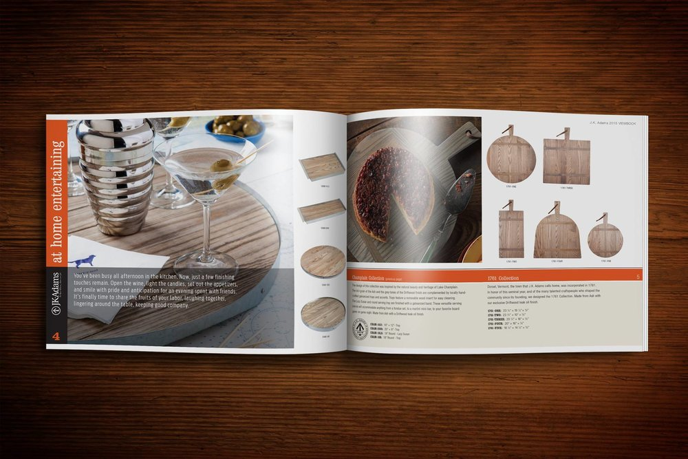 2015 J.K. Adams Catalog Spread