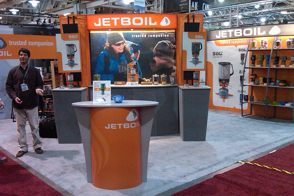 Jetboil Tradeshow design