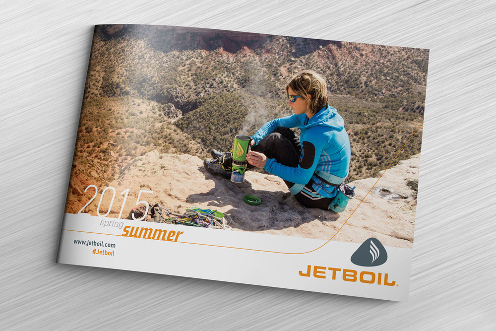 Jetboil Collateral Design