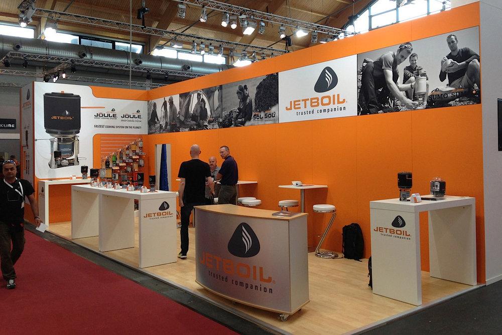 Jetboil OutDoor Friedrichshafen booth design