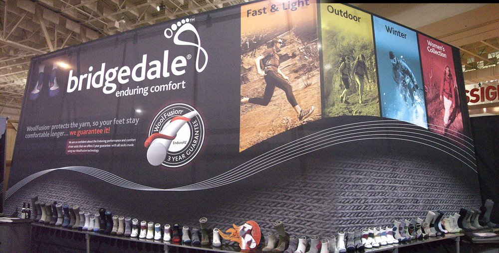 Bridgedale Tradeshow Booth Design
