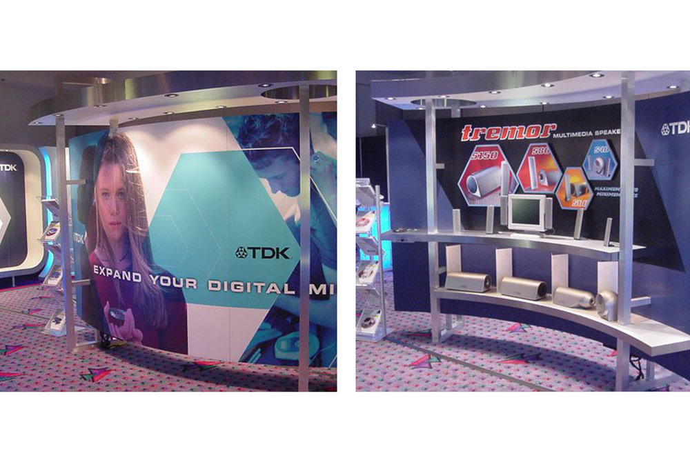 TDK Tradeshow Booth Design