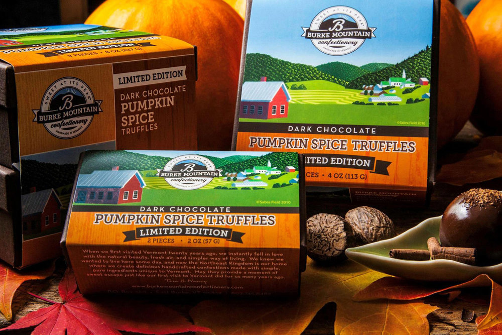 Burke Mountain Confectionary Packaging